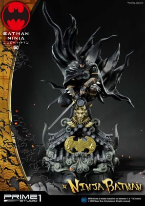 La statuette Batman Ninja de Prime 1 Studio dévoilée 20
