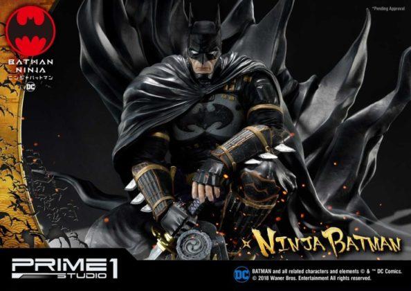 La statuette Batman Ninja de Prime 1 Studio dévoilée 35
