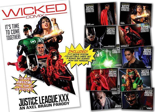 Off My Mind - Justice League XXX: An Axel Braun Parody 2