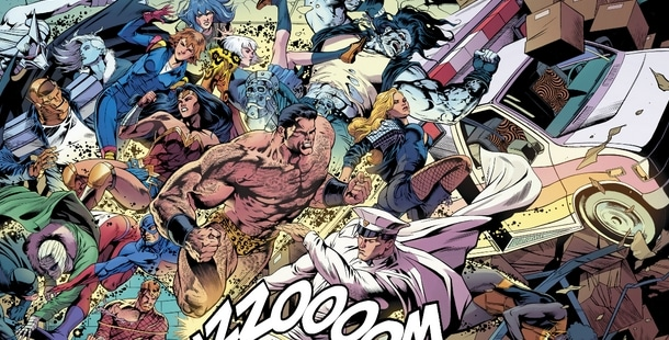 Review VO - JLA/Doom Patrol Special #1 3
