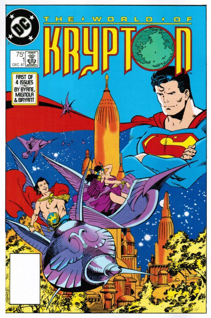 The World of Krypton : Quelles pistes pour la série TV ? 1