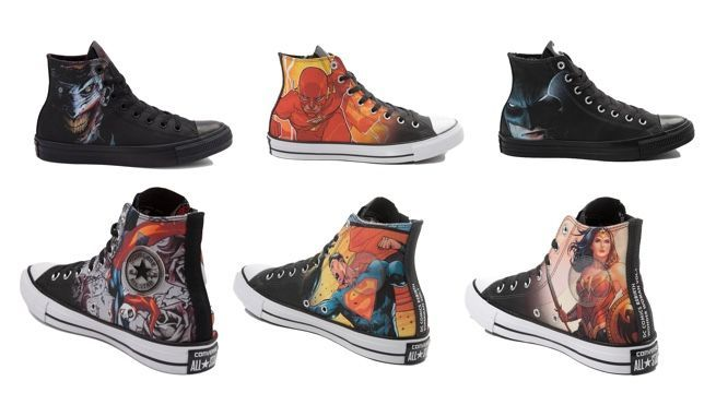 DC s'associe avec Chuck Taylor All-Star pour une collection Rebirth 1