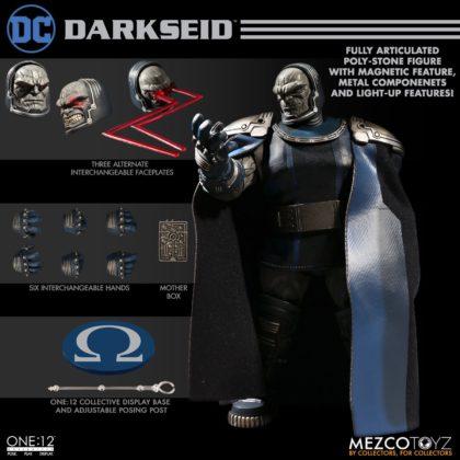 Darkseid débarque dans la collection One:12 de Mezco 10