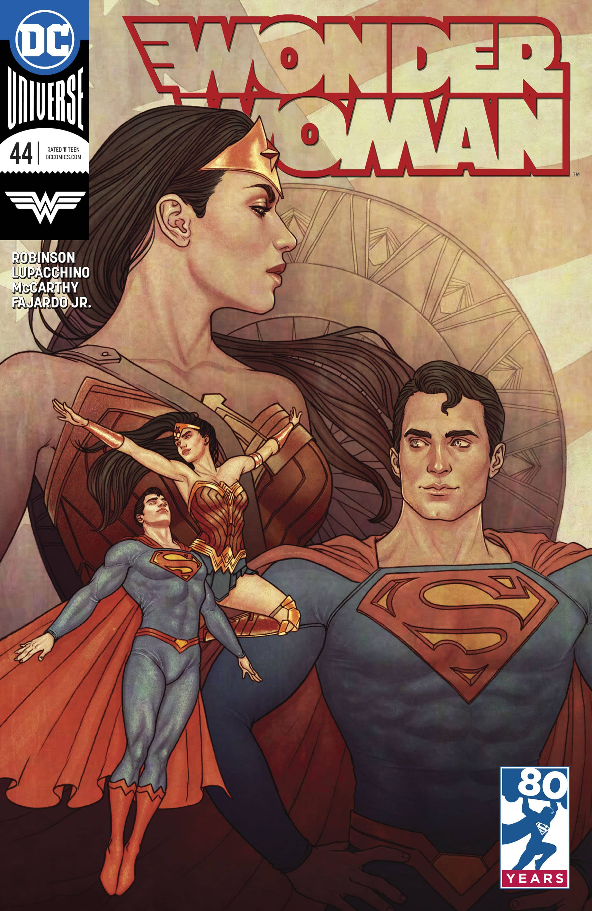 review WONDER WOMAN #40
