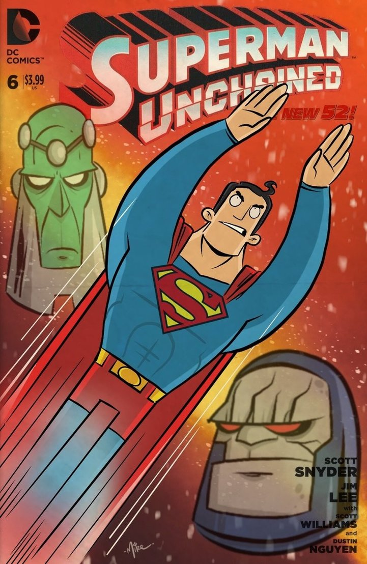 Brainiac, Superman et Darkseid