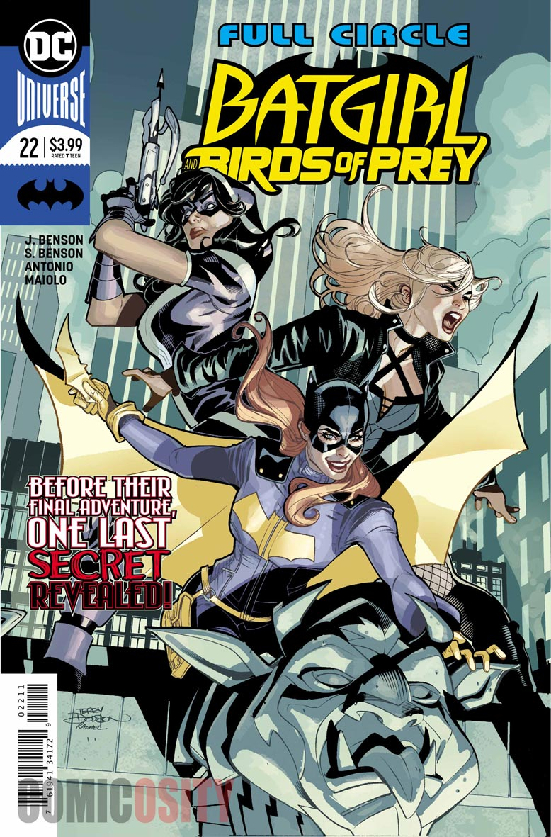review BIRDS OF PREY #22