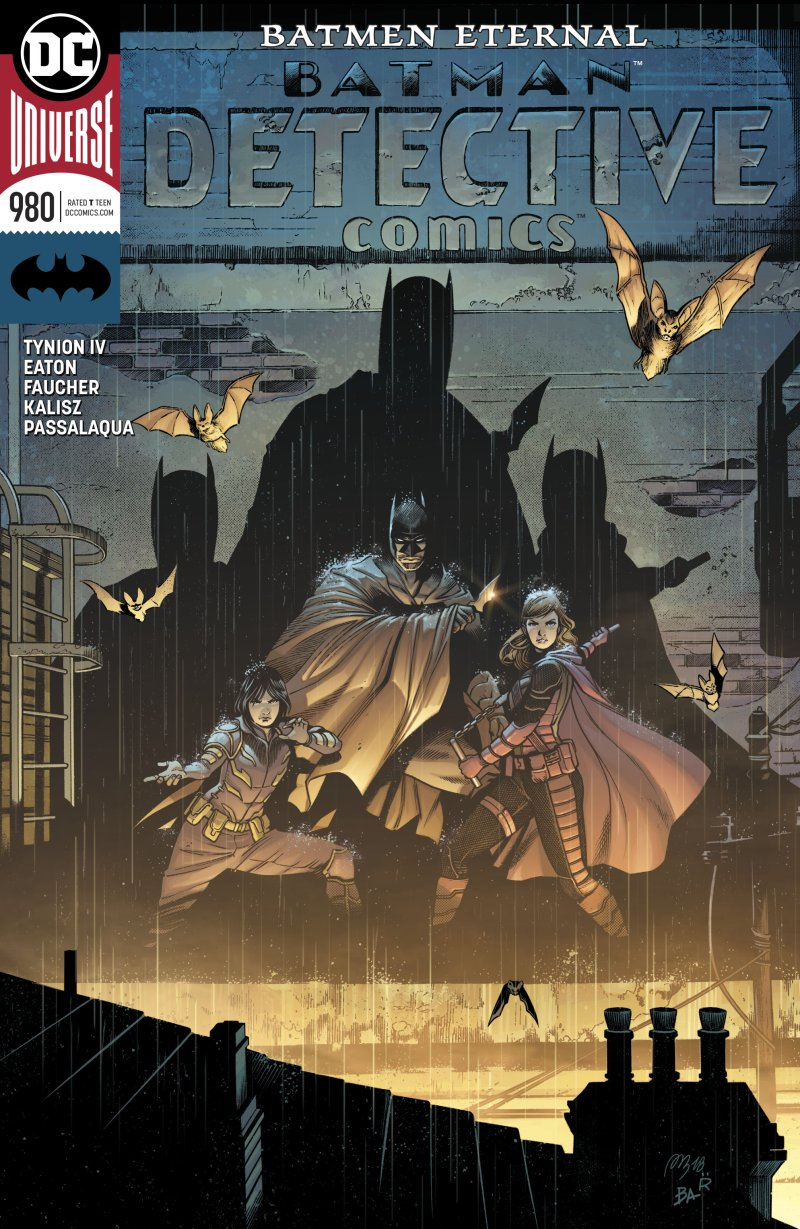 review DETECTIVE COMICS #980