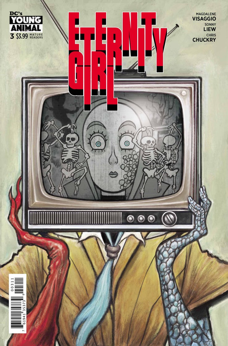 review ETERNITY GIRL #3