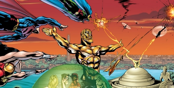 Review VF - Justice League of America Tome 5 : La Tour de Babel 28
