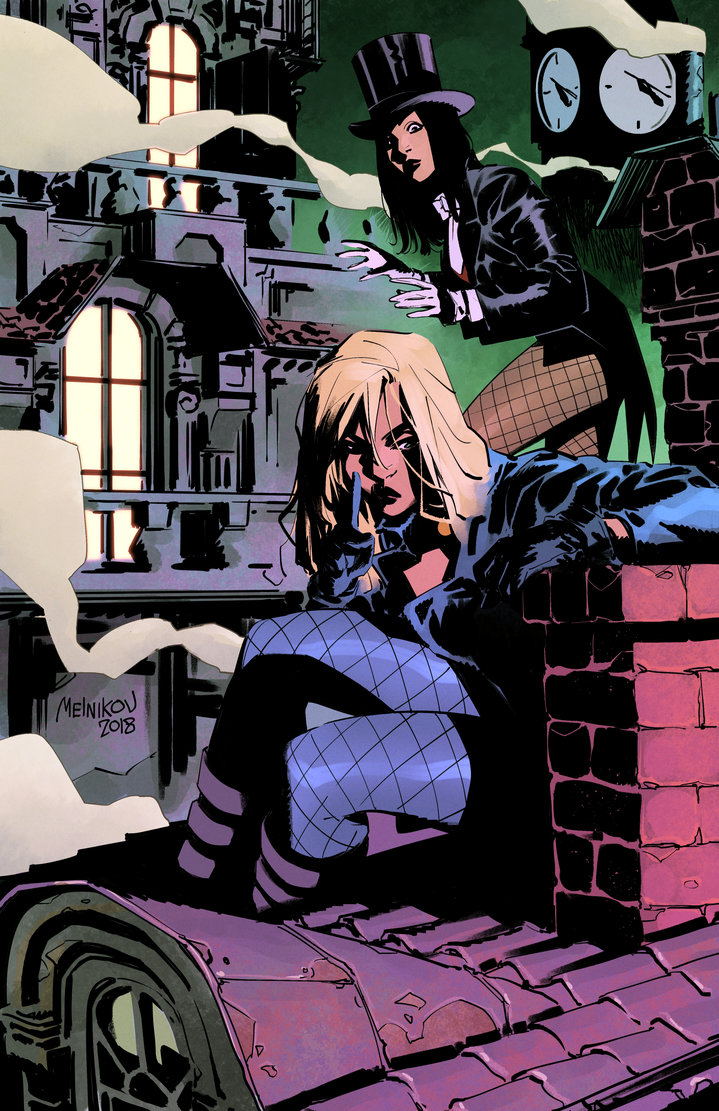 Black Canary et Zatanna