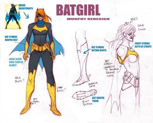 Sean Murphy effectue un relooking pour Batgirl 1