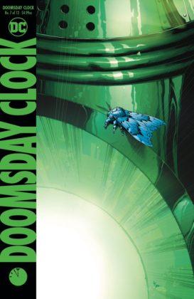 Geoff Johns dévoile les deux couvertures de Doomsday Clock #7 2