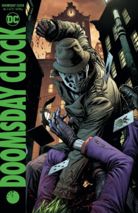 Geoff Johns dévoile les deux couvertures de Doomsday Clock #7 1