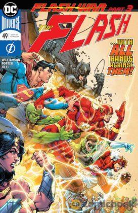 Preview VO - The Flash #49 - Flash War partie 3 1