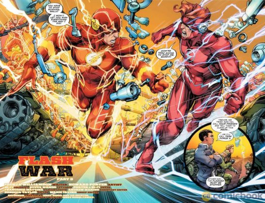 Preview VO - The Flash #49 - Flash War partie 3 4