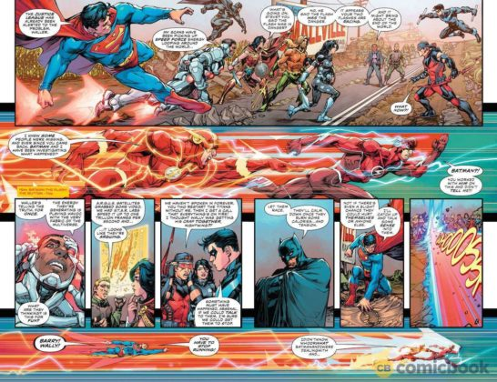 Preview VO - The Flash #49 - Flash War partie 3 7