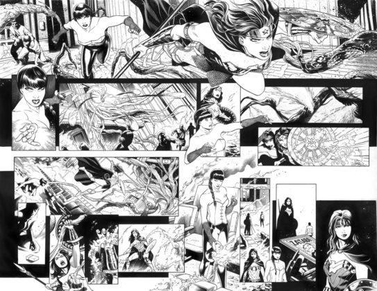 Découvrez les premières pages encrées de Justice League Dark #1 et son nouveau vilain 4