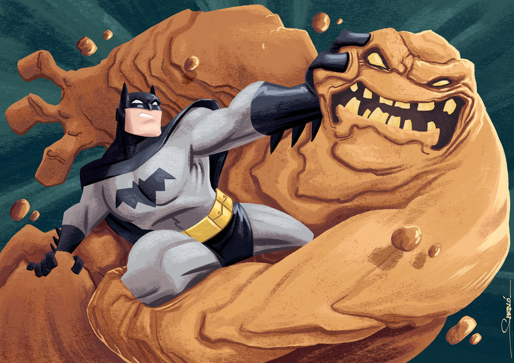 Batman v Clayface