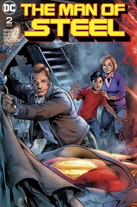 review THE MAN OF STEEL #2