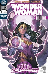 review WONDER WOMAN ANNUAL #2