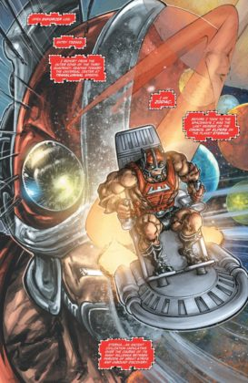 Preview VO - Injustice vs He-Man and the Masters of the Universe #1 3