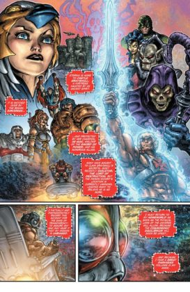 Preview VO - Injustice vs He-Man and the Masters of the Universe #1 4