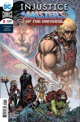 Preview VO - Injustice vs He-Man and the Masters of the Universe #1 1