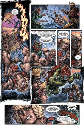 Preview VO - Injustice vs He-Man and the Masters of the Universe #1 7