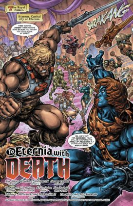 Preview VO - Injustice vs He-Man and the Masters of the Universe #1 5