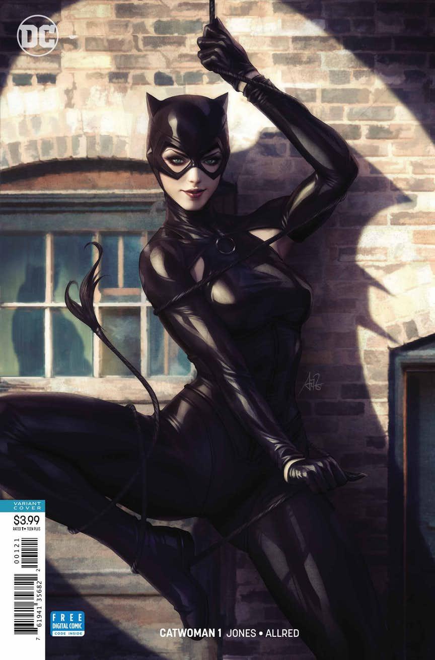 preview vo catwoman 1 la nouvelle s rie solo par jo lle jones. Black Bedroom Furniture Sets. Home Design Ideas