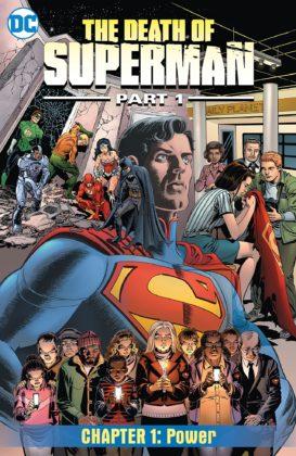 DC lance un comics digital The Death of Superman 1