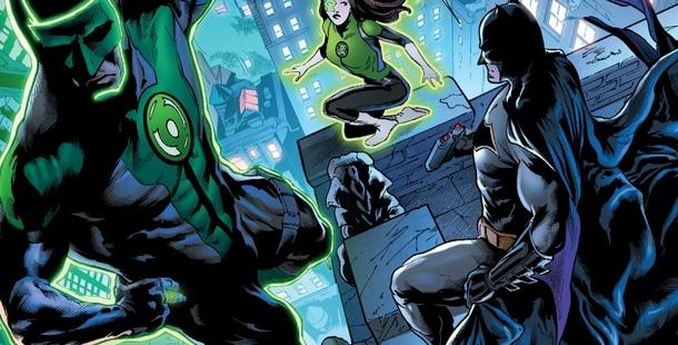 Récit Complet Justice League #6 : Green Lantern : Maîtres de la Peur