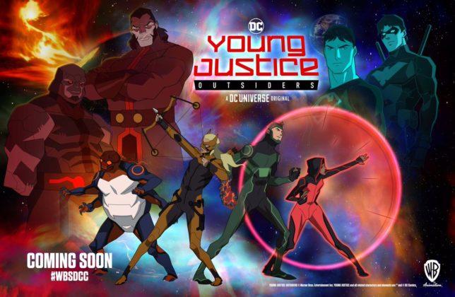 Young Justice: Outsiders dévoile un nouveau poster pour sa saison 3 1