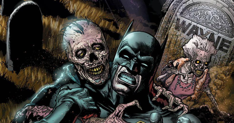 Dc Sortira Deux One Shots Avec Batman Pour Halloween