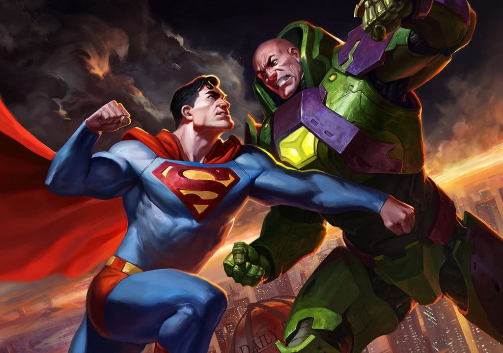 Superman vs Lex
