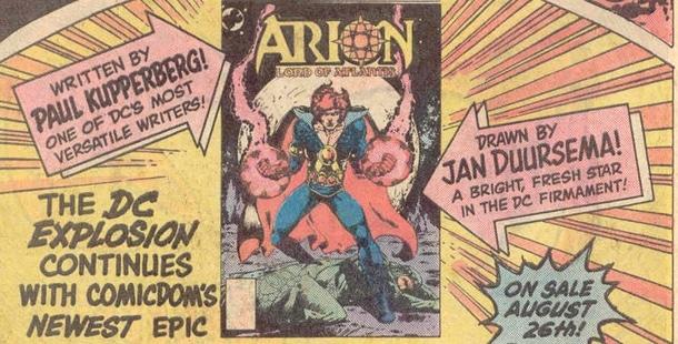 Dossier - Arion, Seigneur d'Atlantis 2