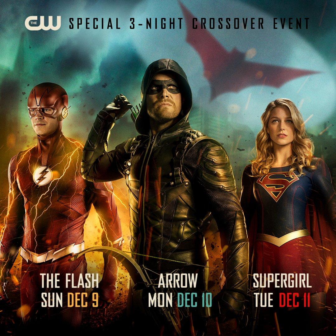 Un nouveau poster dévoile les dates du prochain crossover CW avec Batwoman 33