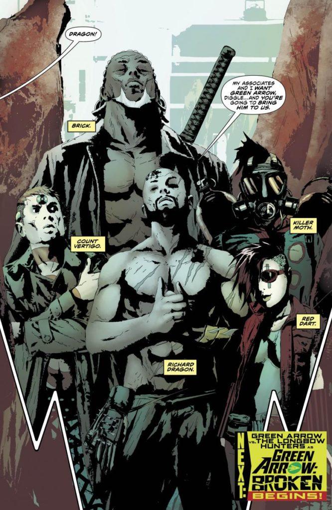 Qui sont les Longbow Hunters, les ennemis de Arrow Saison 7 ? 2