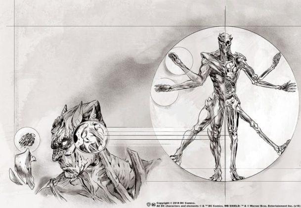 Découvrez un nouvel extrait d'Anatomy of a Metahuman sur Martian Manhunter 1
