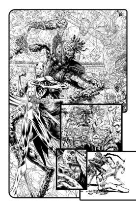 De nouvelles pages de Liam Sharp et informations pour The Green Lantern 2