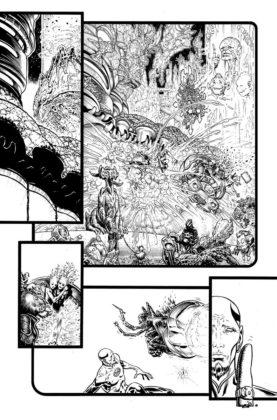 De nouvelles pages de Liam Sharp et informations pour The Green Lantern 3
