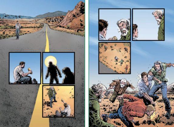 De nouvelles pages de Liam Sharp et informations pour The Green Lantern 4