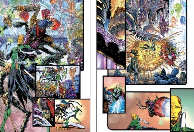 De nouvelles pages de Liam Sharp et informations pour The Green Lantern 5