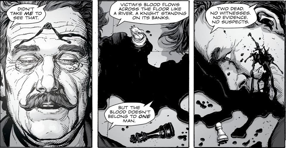 Doomsday Clock #1-7 : Enquête sur les pistes semées par Geoff Johns 32