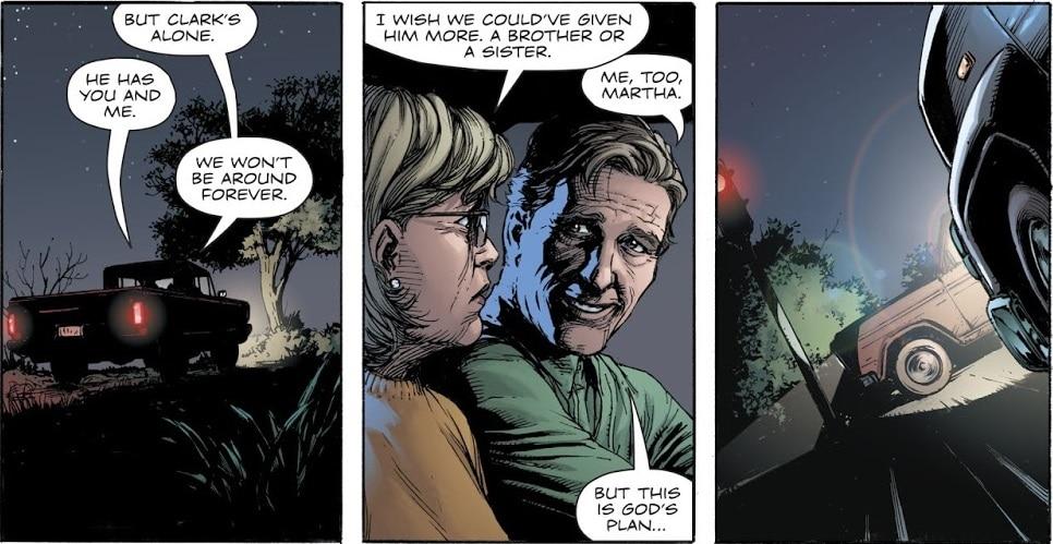 Doomsday Clock #1-7 : Enquête sur les pistes semées par Geoff Johns 40