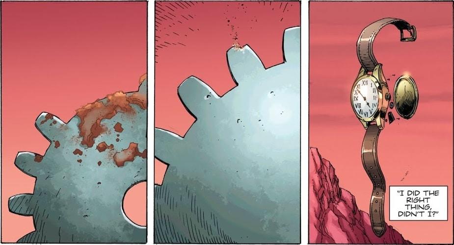 Doomsday Clock #1-7 : Enquête sur les pistes semées par Geoff Johns 33