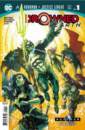 Preview VO - Aquaman/Justice League : Drowned Earth #1 1