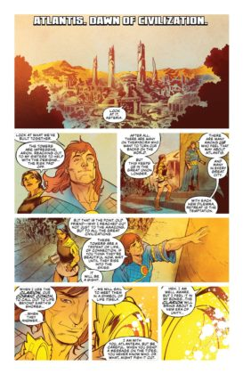 Preview VO - Aquaman/Justice League : Drowned Earth #1 2