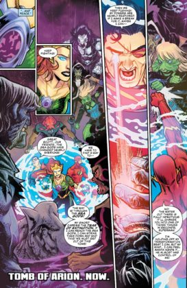Preview VO - Aquaman/Justice League : Drowned Earth #1 3
