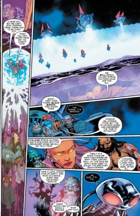Preview VO - Aquaman/Justice League : Drowned Earth #1 4